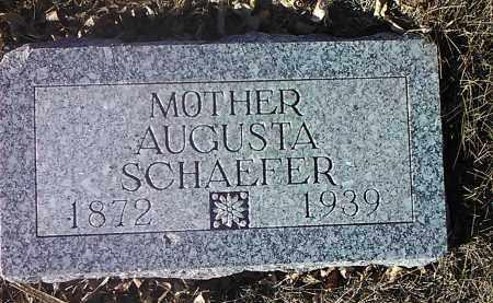 SCHAEFER, AUGUSTA - Deuel County, South Dakota | AUGUSTA SCHAEFER - South Dakota Gravestone Photos