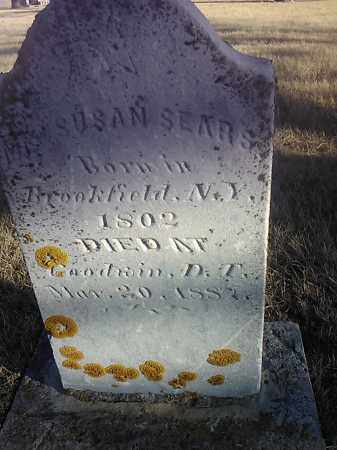 SEARS, SUSAN - Deuel County, South Dakota | SUSAN SEARS - South Dakota Gravestone Photos