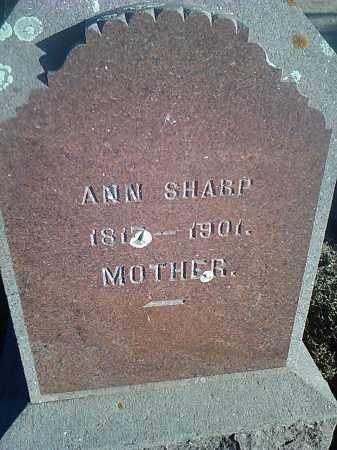 SHARP, ANN - Deuel County, South Dakota | ANN SHARP - South Dakota Gravestone Photos
