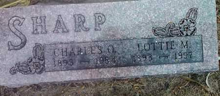 SHARP, LOTTIE M. - Deuel County, South Dakota | LOTTIE M. SHARP - South Dakota Gravestone Photos