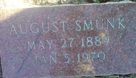 SMUNK, AUGUST - Deuel County, South Dakota | AUGUST SMUNK - South Dakota Gravestone Photos