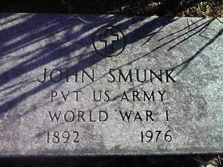 SMUNK, JOHN (MILITARY) - Deuel County, South Dakota | JOHN (MILITARY) SMUNK - South Dakota Gravestone Photos