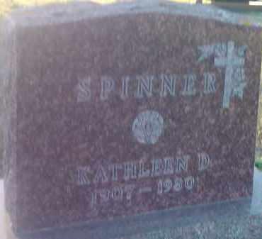 SPINNER, KATHLEEN D - Deuel County, South Dakota   KATHLEEN D SPINNER - South Dakota Gravestone Photos