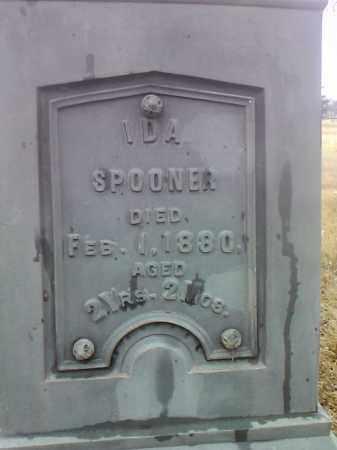 SPOONER, IDA - Deuel County, South Dakota   IDA SPOONER - South Dakota Gravestone Photos