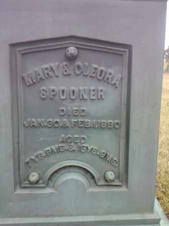 SPOONER, CLEORA - Deuel County, South Dakota | CLEORA SPOONER - South Dakota Gravestone Photos