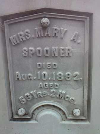 SPOONER, MARY A. - Deuel County, South Dakota | MARY A. SPOONER - South Dakota Gravestone Photos