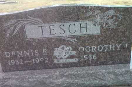 TESCH, DOROTHY - Deuel County, South Dakota | DOROTHY TESCH - South Dakota Gravestone Photos