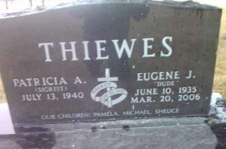 THIEWES, EUGENE J. - Deuel County, South Dakota | EUGENE J. THIEWES - South Dakota Gravestone Photos