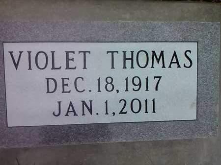 THOMAS, VIOLET - Deuel County, South Dakota | VIOLET THOMAS - South Dakota Gravestone Photos