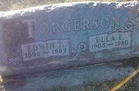 TORGERSON, EDWIN T - Deuel County, South Dakota   EDWIN T TORGERSON - South Dakota Gravestone Photos