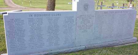 ***VETERANS, MEMORIAL - Deuel County, South Dakota | MEMORIAL ***VETERANS - South Dakota Gravestone Photos