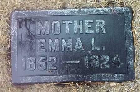 WASHBURN, EMMA L. - Deuel County, South Dakota | EMMA L. WASHBURN - South Dakota Gravestone Photos