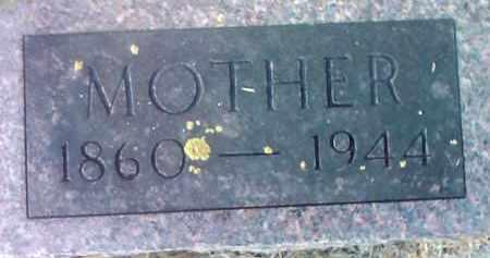 WAYNE, MOTHER - Deuel County, South Dakota | MOTHER WAYNE - South Dakota Gravestone Photos