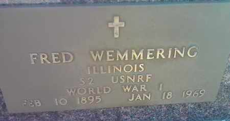 WEMMERING, FRED (MILITARY) - Deuel County, South Dakota | FRED (MILITARY) WEMMERING - South Dakota Gravestone Photos