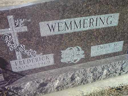 WEMMERING, FREDERICK - Deuel County, South Dakota   FREDERICK WEMMERING - South Dakota Gravestone Photos