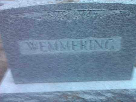 WEMMERING, FAMILY STONE - Deuel County, South Dakota   FAMILY STONE WEMMERING - South Dakota Gravestone Photos
