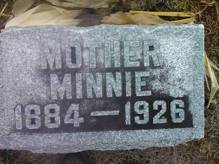 WEST, MINNIE - Deuel County, South Dakota | MINNIE WEST - South Dakota Gravestone Photos