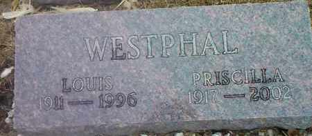 WESTPHAL, LOUIS - Deuel County, South Dakota | LOUIS WESTPHAL - South Dakota Gravestone Photos