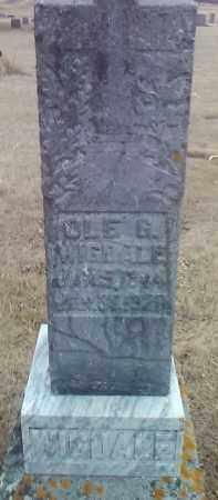 WIGDALE, OLE G. - Deuel County, South Dakota | OLE G. WIGDALE - South Dakota Gravestone Photos