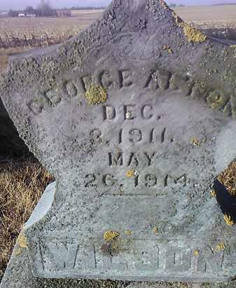 WILSON, GEORGE ALTON - Deuel County, South Dakota   GEORGE ALTON WILSON - South Dakota Gravestone Photos
