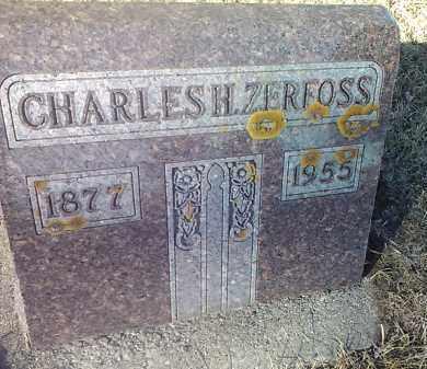 ZERFOSS, CHARLES H. - Deuel County, South Dakota   CHARLES H. ZERFOSS - South Dakota Gravestone Photos