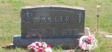 KELLER, CHRISTINE - Dewey County, South Dakota | CHRISTINE KELLER - South Dakota Gravestone Photos