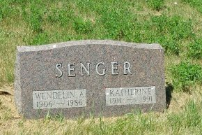 SCHWEITZER SENGER, KATHERINE - Dewey County, South Dakota | KATHERINE SCHWEITZER SENGER - South Dakota Gravestone Photos
