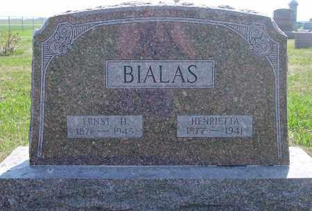 BIALAS, HENRIETTA - Douglas County, South Dakota | HENRIETTA BIALAS - South Dakota Gravestone Photos