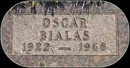 BIALAS, OSCAR - Douglas County, South Dakota   OSCAR BIALAS - South Dakota Gravestone Photos