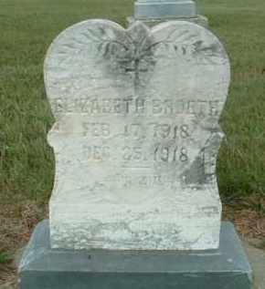 BROETH, ELIZABETH - Douglas County, South Dakota   ELIZABETH BROETH - South Dakota Gravestone Photos