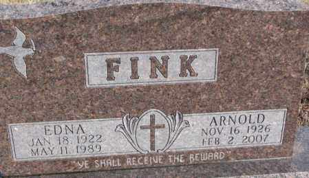 FINK, ARNOLD - Douglas County, South Dakota | ARNOLD FINK - South Dakota Gravestone Photos