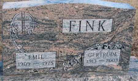 FINK, EMIL - Douglas County, South Dakota | EMIL FINK - South Dakota Gravestone Photos