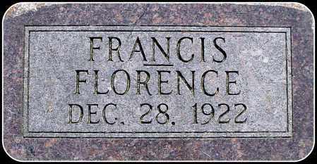 GOLDAMMER, FRANCIS FLORENCE - Douglas County, South Dakota | FRANCIS FLORENCE GOLDAMMER - South Dakota Gravestone Photos