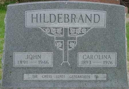 HILDEBRAND, CAROLINA - Douglas County, South Dakota   CAROLINA HILDEBRAND - South Dakota Gravestone Photos