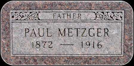 METZGER, PAUL - Douglas County, South Dakota   PAUL METZGER - South Dakota Gravestone Photos