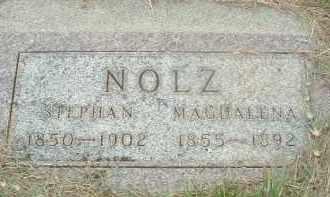 NOLZ, STEPHAN - Douglas County, South Dakota   STEPHAN NOLZ - South Dakota Gravestone Photos