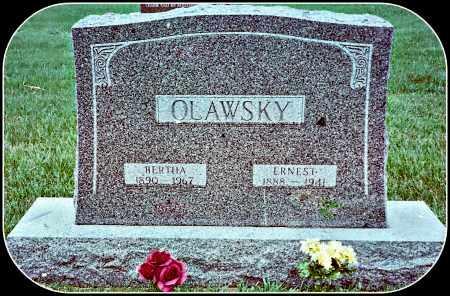 SPERLICH OLAWSKY, BERTHA - Douglas County, South Dakota | BERTHA SPERLICH OLAWSKY - South Dakota Gravestone Photos