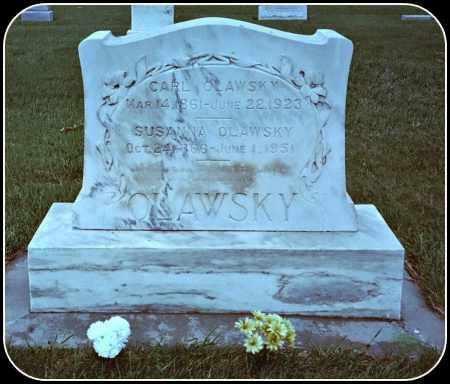 OLAWSKY, SUSANNA - Douglas County, South Dakota   SUSANNA OLAWSKY - South Dakota Gravestone Photos