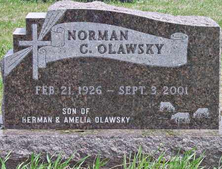 OLAWSKY, NORMAN C. - Douglas County, South Dakota | NORMAN C. OLAWSKY - South Dakota Gravestone Photos