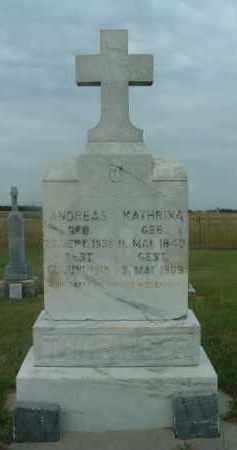 LUNZER THURINGER, KATHRINA - Douglas County, South Dakota | KATHRINA LUNZER THURINGER - South Dakota Gravestone Photos