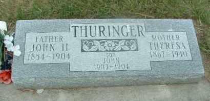 THURINGER, JOHN - Douglas County, South Dakota | JOHN THURINGER - South Dakota Gravestone Photos