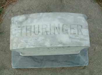 THURINGER, UNKNOWN - Douglas County, South Dakota | UNKNOWN THURINGER - South Dakota Gravestone Photos