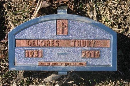 THURY, DELORES - Douglas County, South Dakota   DELORES THURY - South Dakota Gravestone Photos