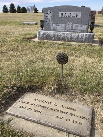 BADER, ADELINE C - Edmunds County, South Dakota | ADELINE C BADER - South Dakota Gravestone Photos