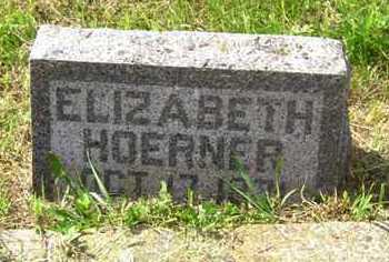 KIEST HOERNER, ELIZABETH - Edmunds County, South Dakota | ELIZABETH KIEST HOERNER - South Dakota Gravestone Photos