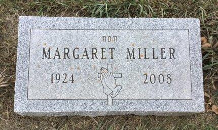MILLER, MARGARET - Edmunds County, South Dakota | MARGARET MILLER - South Dakota Gravestone Photos