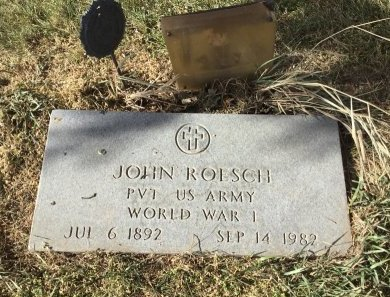 ROESCH, JOHN - Edmunds County, South Dakota | JOHN ROESCH - South Dakota Gravestone Photos