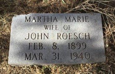 ROESCH, MARTHA MARIE - Edmunds County, South Dakota | MARTHA MARIE ROESCH - South Dakota Gravestone Photos