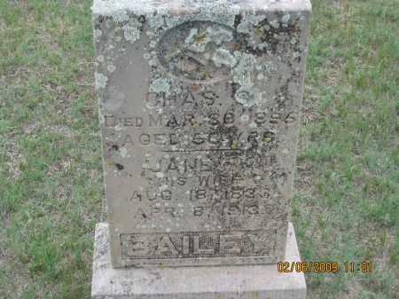 BAILEY, JANE - Fall River County, South Dakota | JANE BAILEY - South Dakota Gravestone Photos