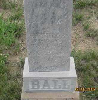 BALL, SERRILDA - Fall River County, South Dakota | SERRILDA BALL - South Dakota Gravestone Photos